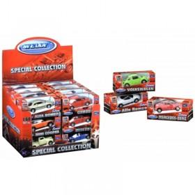 Autos 1:60 Pullback En Caja Welly 58120-24