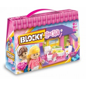 Bloque House Living X 80 Piezas Blocky 640