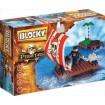 Bloque Balsa Pirata X 100 Piezas Blocky 01-0637