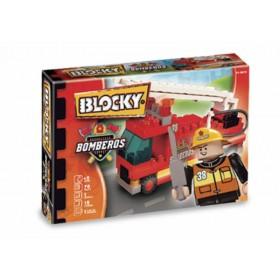 Bloque Bomberos 1 X 70 Piezas Blocky 0650