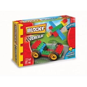 Bloque Vehículos 1 X 50 Piezas Blocky 0600