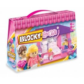 Bloque House Dormitorio X 80 Piezas Blocky 641