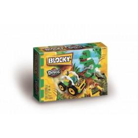 Bloques Dinos X 65 Piezas Blocky 01-0677