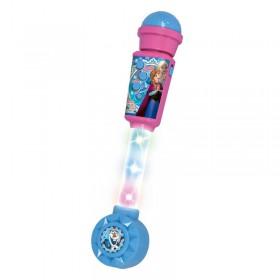 Microfono Karaoke Frozen Con Luz y Mp3 Ditoys 2255