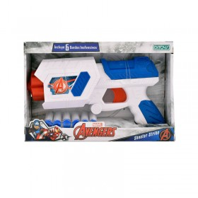 Pistola Lanza Dardo Scooter Strike Avengers Ditoys 2217