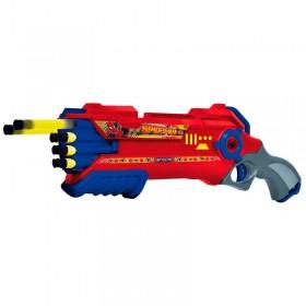 Pistola Lanza Dardo Spiderman Storm Shooter Ditoys 1771