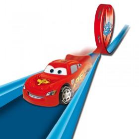 Cars Racing Set Pista Con Lanzador Ditoys 1183