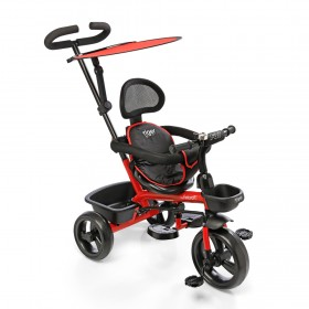 Triciclo Tiger Fit Con Manija Toldo Apoya Pie 3211F