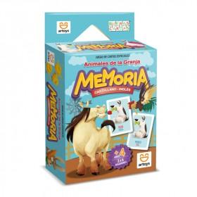 Memoria Animales De La Granja Juego Cartas Arval 1003