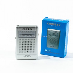 Radio AM/FM De Bolsillo CS210 Crosley