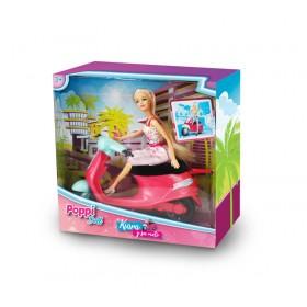 Muñeca Kiara Y Su Moto Poppi Doll 5982-B089