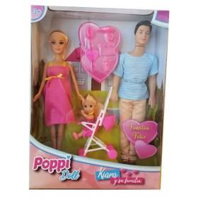 Muñeca Kiara Y Su Familia Poppi Doll 5977-B197