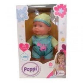 Bebé Con Sonido 20cm Poppi Doll 6602-27017