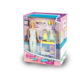 Muñeca Kiara Pediatra Poppi Doll 5974-B149