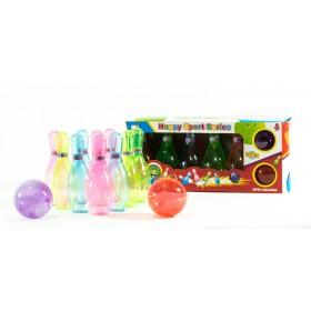 Bowling Mediano Transparente Caja H8539A