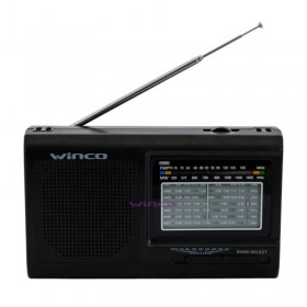 Radio Dual 9 Bandas Winco W2005
