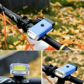 Luz Led Bici Delantera Con Soporte