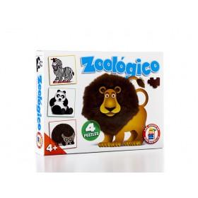 Don Rastrillo Rompecabezas En El Zoológico Ruibal H354