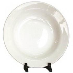 Plato Hondo Blanco 22cm Ceramica