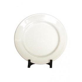 Plato Postre Blanco 19cm Ceramica