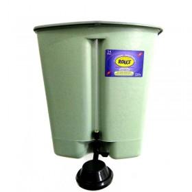 Calefon Plastico Resistencia Aluminio 20 Lts