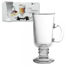 Jarro Cafe Mug x 1 Irish Vidrio