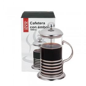 Cafetera Vidrio Y Acero Con Embolo 600Ml