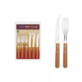 Juego De Cubiertos x 12 Pcs Cuchillo y Tenedor