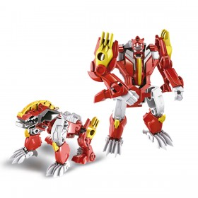Robot Transformer Convertible Beast Fighters Ditoys 2404