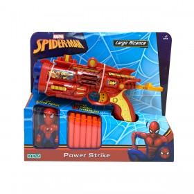 Pistola Power Strike Spiderman Ditoys 2423