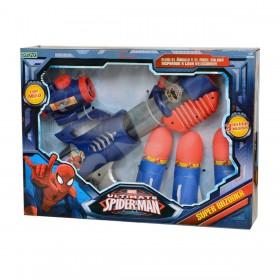 Rifle Lanza Cohetes Super Bazooka Spiderman Ditoys 1573