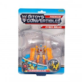 Transformer Convertible Cyber Squad Ditoys 1765