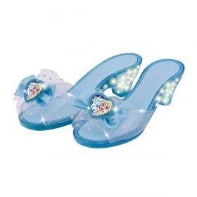 Zapatos Boutique Con Luz Frozen Ditoys 2283