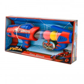 Pistola Max Shoot Spiderman Ditoys 1545