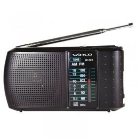 Radio Portátil Am fm Winco w223