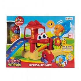 Pista De Dinosaurios Didáctica Con Parque + 2 Dinoautos Blumpy 10072
