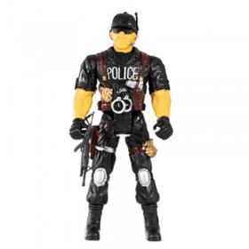 Muñeco Policía Articulado 37cm 234/238/239