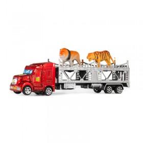 Camión Transportador Mosquito 31cm + 2 Animales 1499515