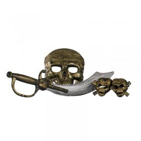 Espada De Piratas Con Máscara Y Accesorios MK4110399