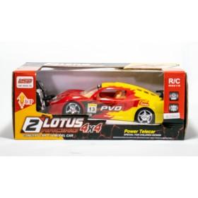 Auto Radio Control Lotus Racing 4 Funciones Escala 1:18 01004426