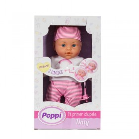 Bebé Mi Primer Chupete Con Sonidos Poppi Naty 6477-28001