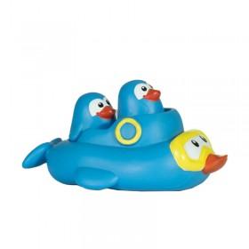 Chifle X3 Familia Pingüino Con Crías Chanchy Toys 5720