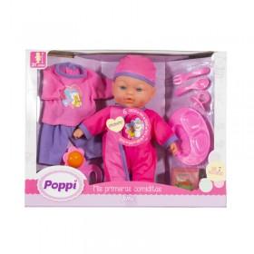 Bebé Mis Primeras Comiditas Con Sonido Y Accesorios Poppi Jime