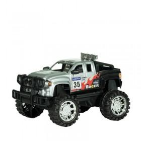 Camioneta A Fricción 24 cm Con Interior Plateado BB13083