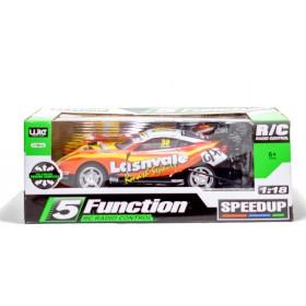 Auto Radio Control 5 Funciones Escala 1:18 Speedup B683502
