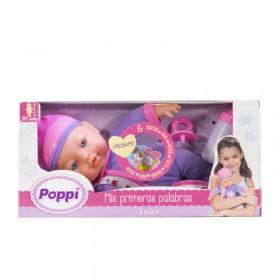 Bebé Mis Primeras Palabras Con Sonido Y Accesorios Poppi Valen 5357-16007