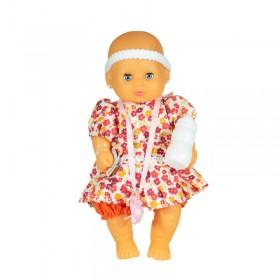 Mi Bebé 30cm Con Ojos Movibles Y Aritos Yoly Bell 1271