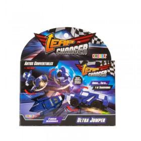 Auto Convertible Con lanzador Leap Changers Kreker 9801