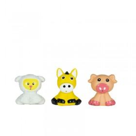Chifle Lanza Agua X3 Animalitos De La Granja Chanchy Toys 5600