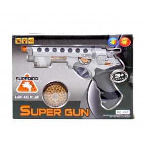Pistola Super Gun Con Luz y Sonido 308/RF223